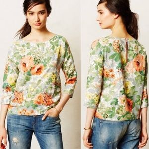 {HD in Paris} Bloomfield Floral Pocket Blouse